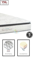 Comfy 5cm Pillow Top Mattress | Model E.Plw