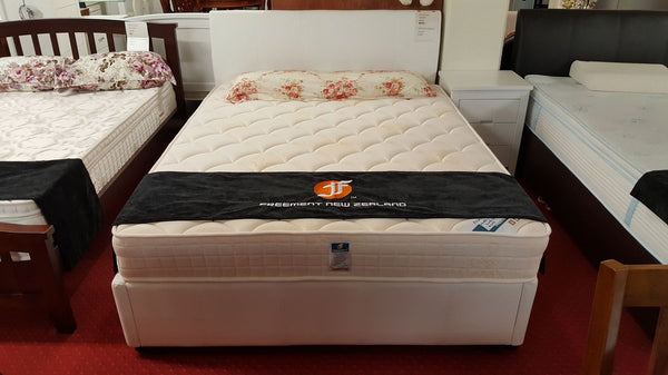F349# Bed Frame | Queen | White color