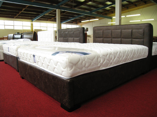 8016# Bed Frame | King | Coffee color