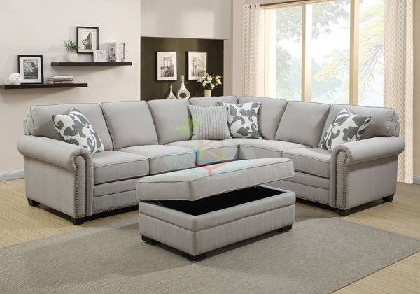 George# L-Shape Lounge Suite | 3S+MS+2S+O