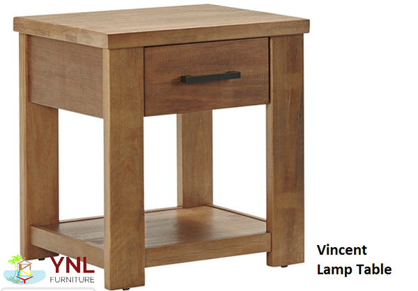 Vincent# Birchwood Lamp Table