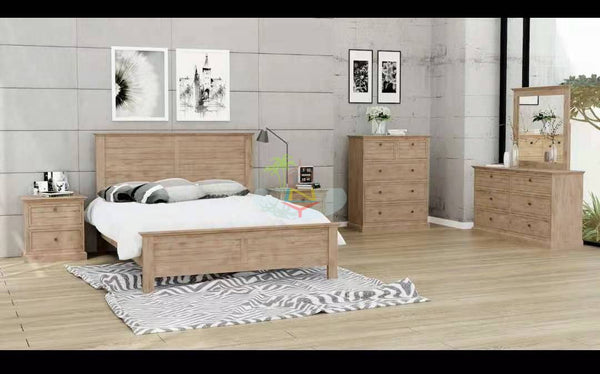 Rabbit Island Acacia 4 Piece Bedroom Suite | Queen