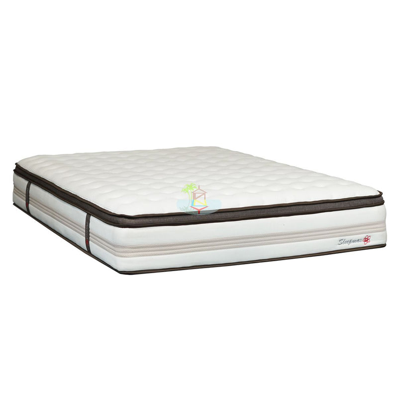 Indulgent 10cm Euro Top on Pocket spring with Memory foam Mattress | Model Mem Euro