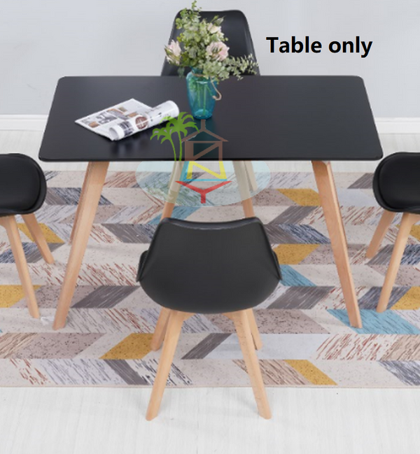 Sonia# Dining Table | Black color