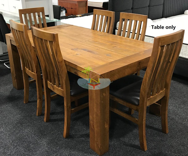 Woodgate# NZ Pine Dining Table | 1.8M