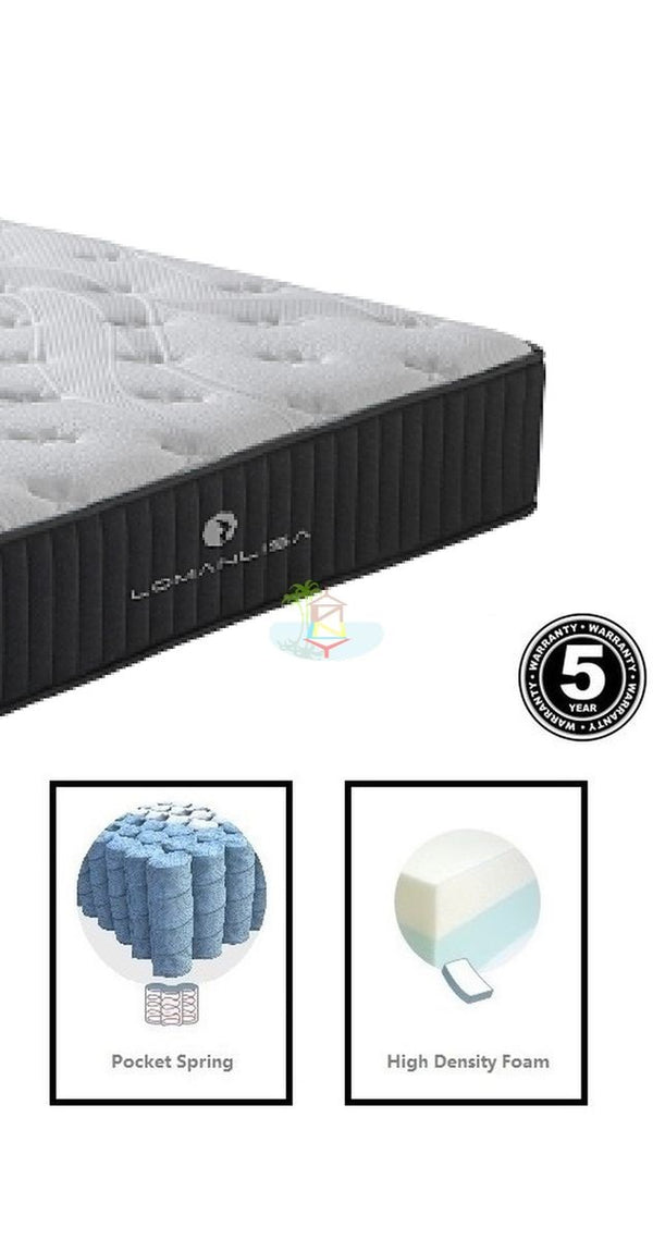 Extra Firm Pocket spring Mattress | Model XF.Pkt# | Double size