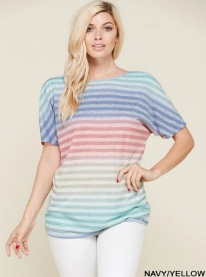 Colors My Stripes Top