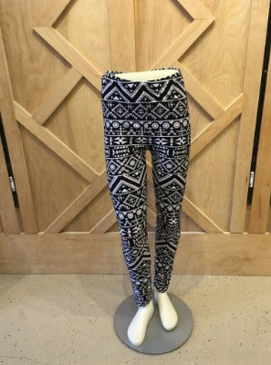 Plus Tribal Print leggings