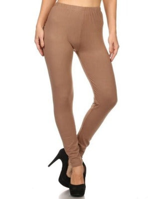 Full Length Leggings light Brown