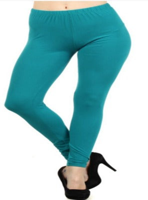 Full Length Leggings Seafoam Green