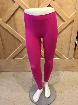 Full Length Leggings Pink