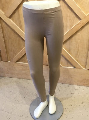 Full Length Leggings Beige