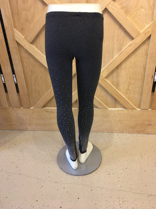Sparkle Leggings Charcoal