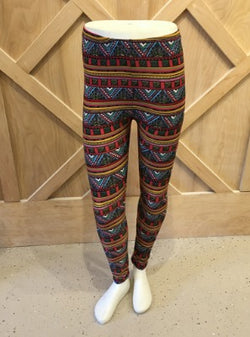 Pattern Leggings Aztec