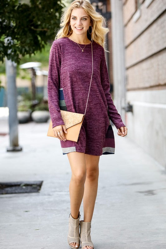 Pretty In Purple Dress