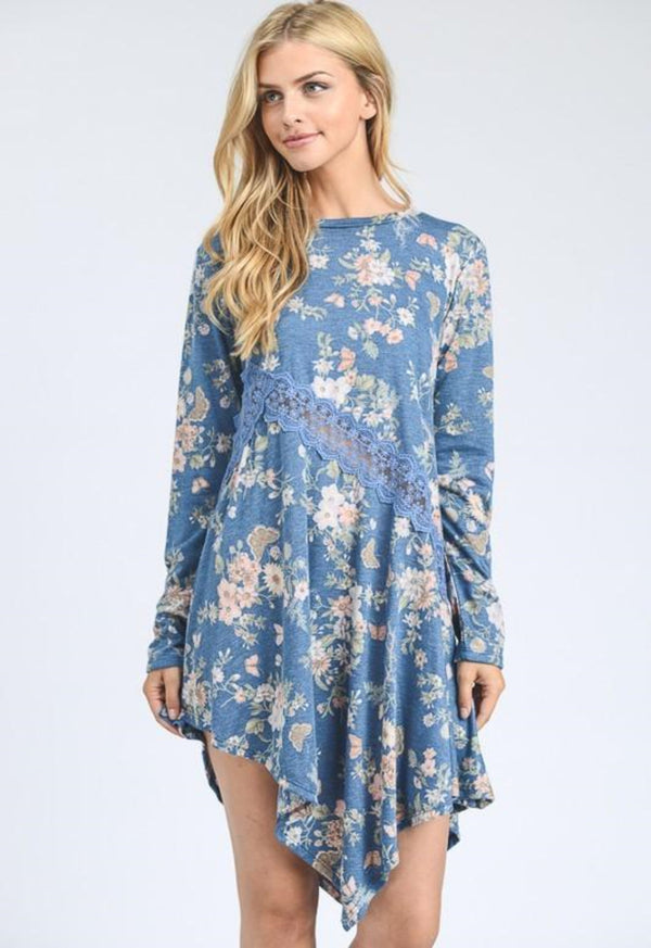 Faith and Flowers Tunic