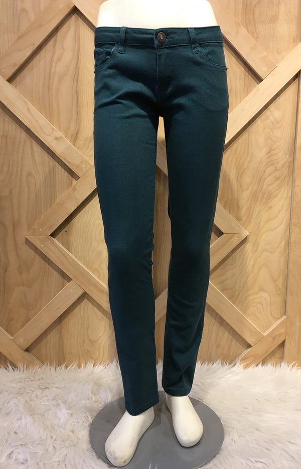 Skinny Jeans Hunter Green