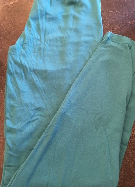 Fleece Lined Dark Teal Legging