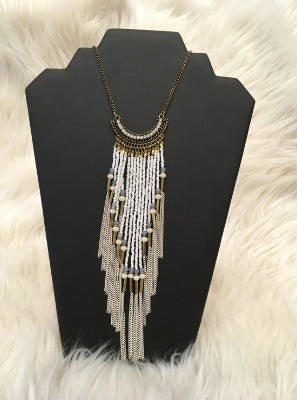 Bead Tassel Necklaces