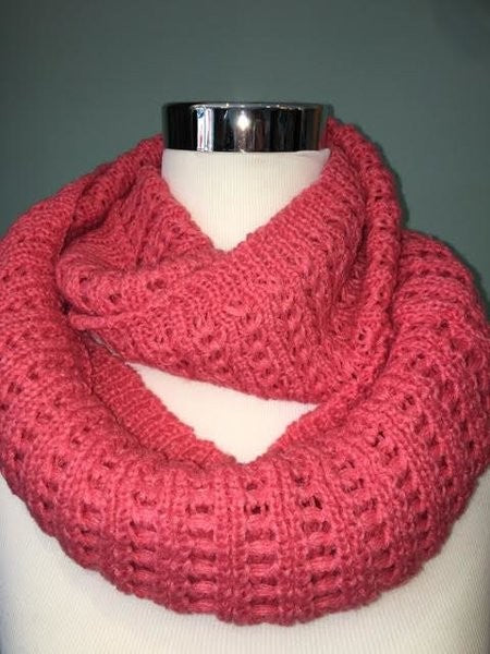 Scallop Detail Infinity Scarf