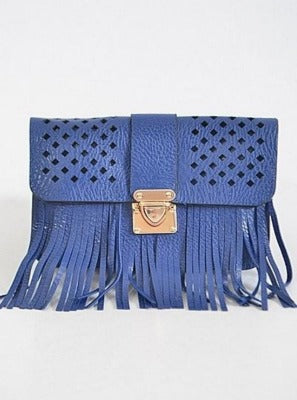 Fringe Small Cut Purse