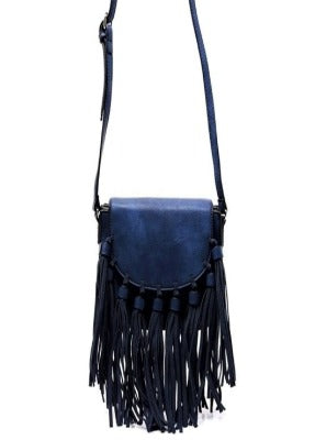 Crossbody Tie Tassel Purse