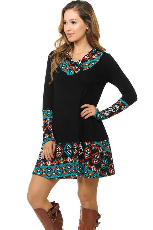Tribal Short Dress