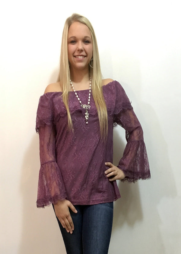 Lacey Macy Lace Top