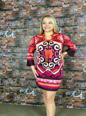 Bold N Beautiful Shift Dress