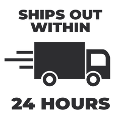SHIPS OUT WITHIN 24 HOURS