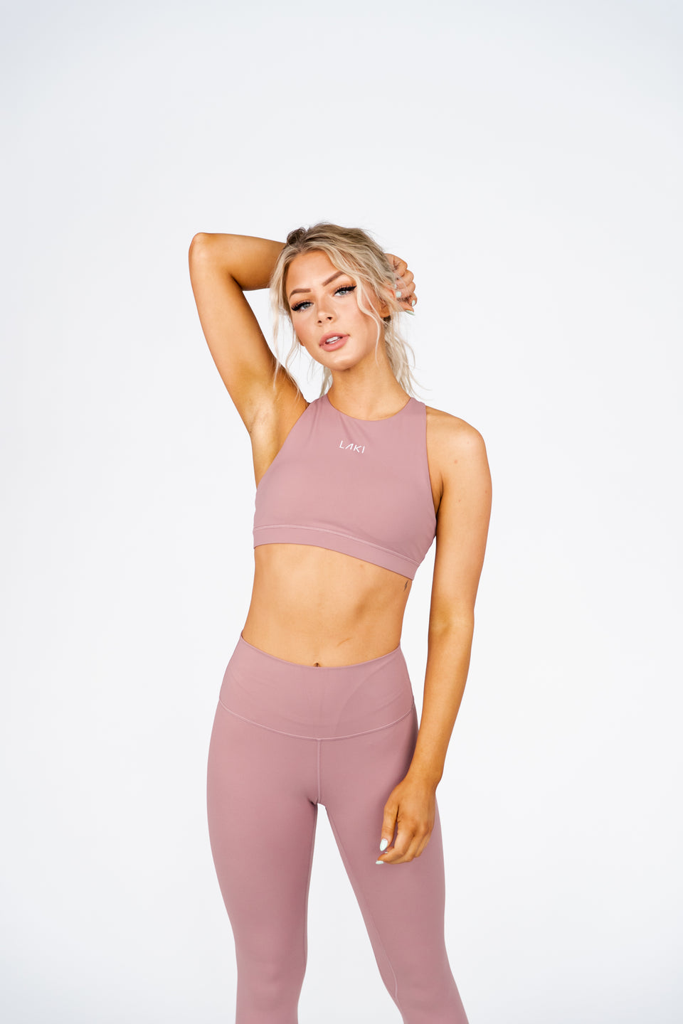 ATHENA SPORTS BRA- PEACH