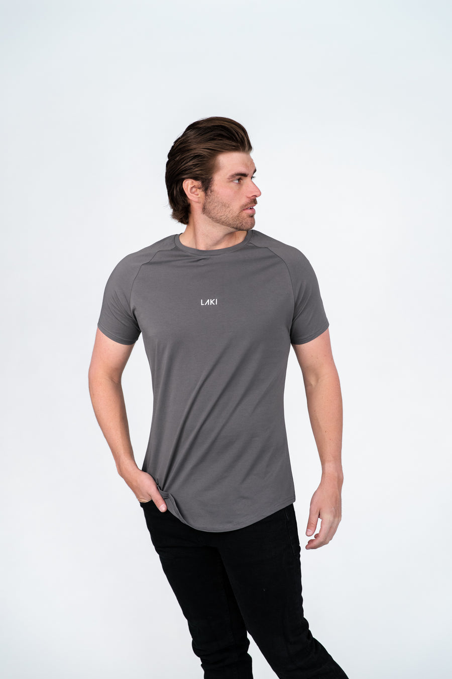 FOUNDATION T-SHIRT - CHARCOAL