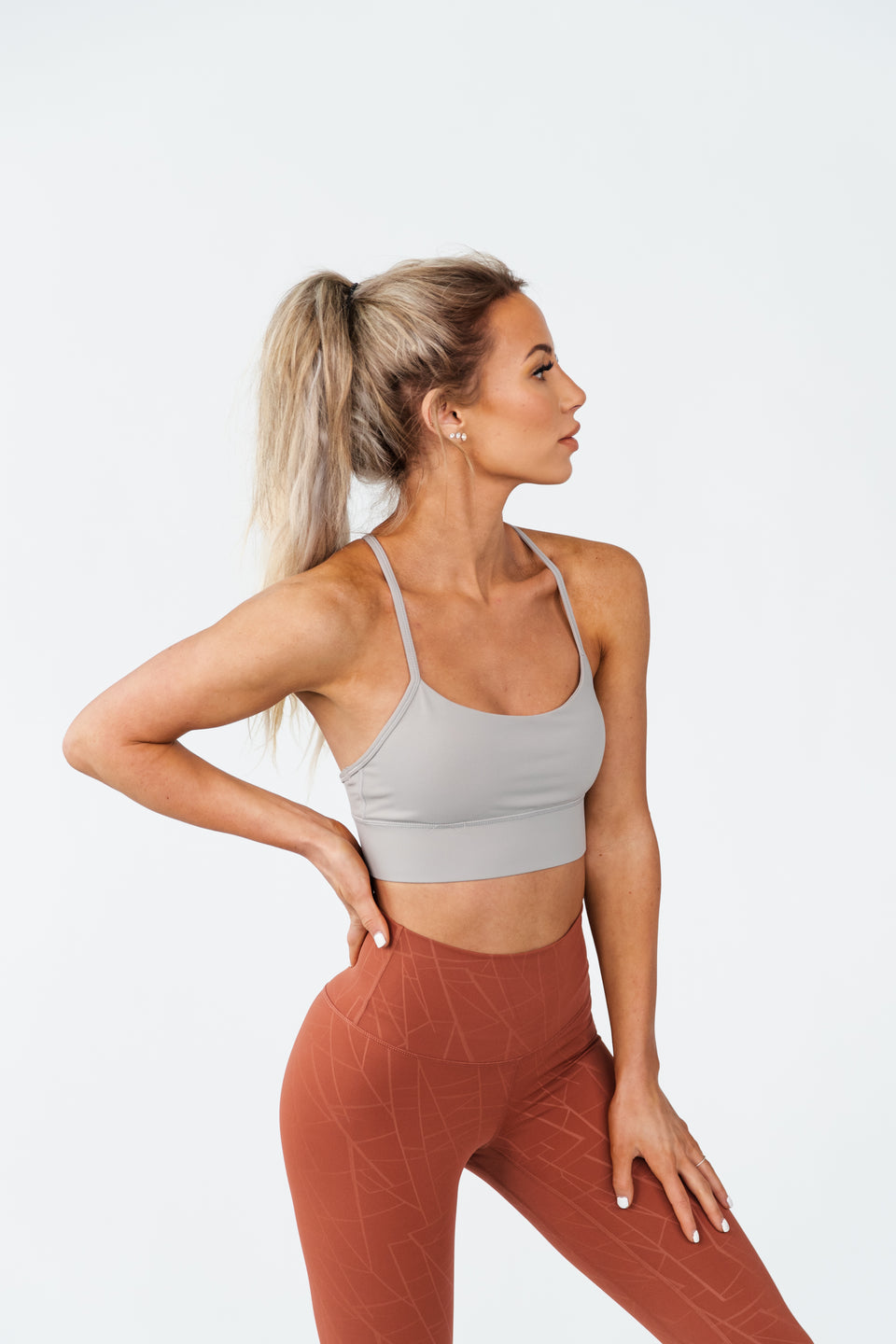 SALE FREYA SPORTS BRA - SLATE