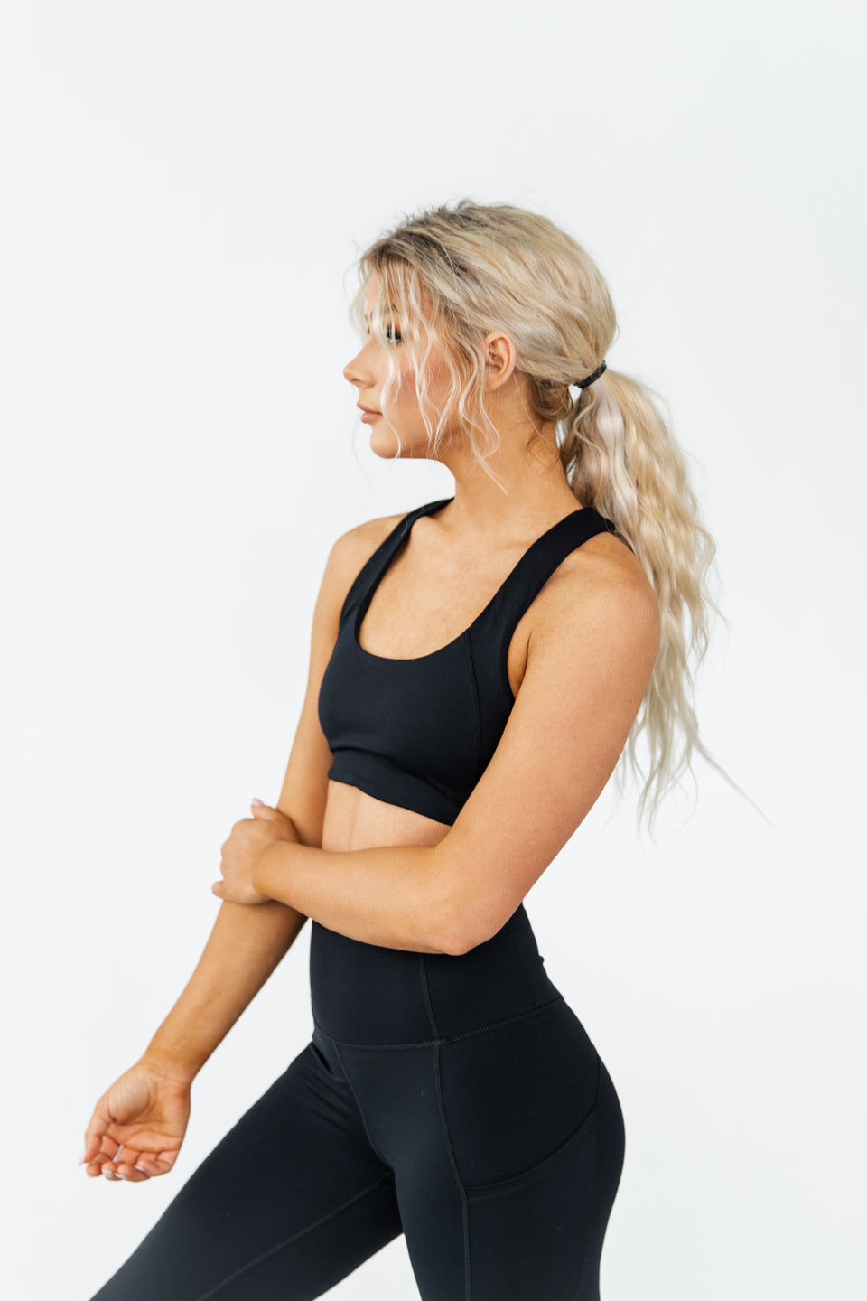 ARK SPORTS BRA - MIDNIGHT
