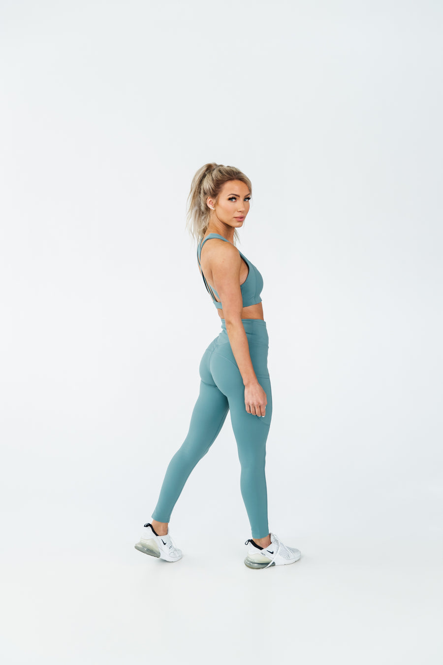 ARK LEGGING - STEEL
