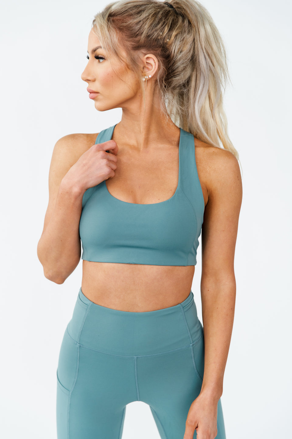 ARK SPORTS BRA - STEEL