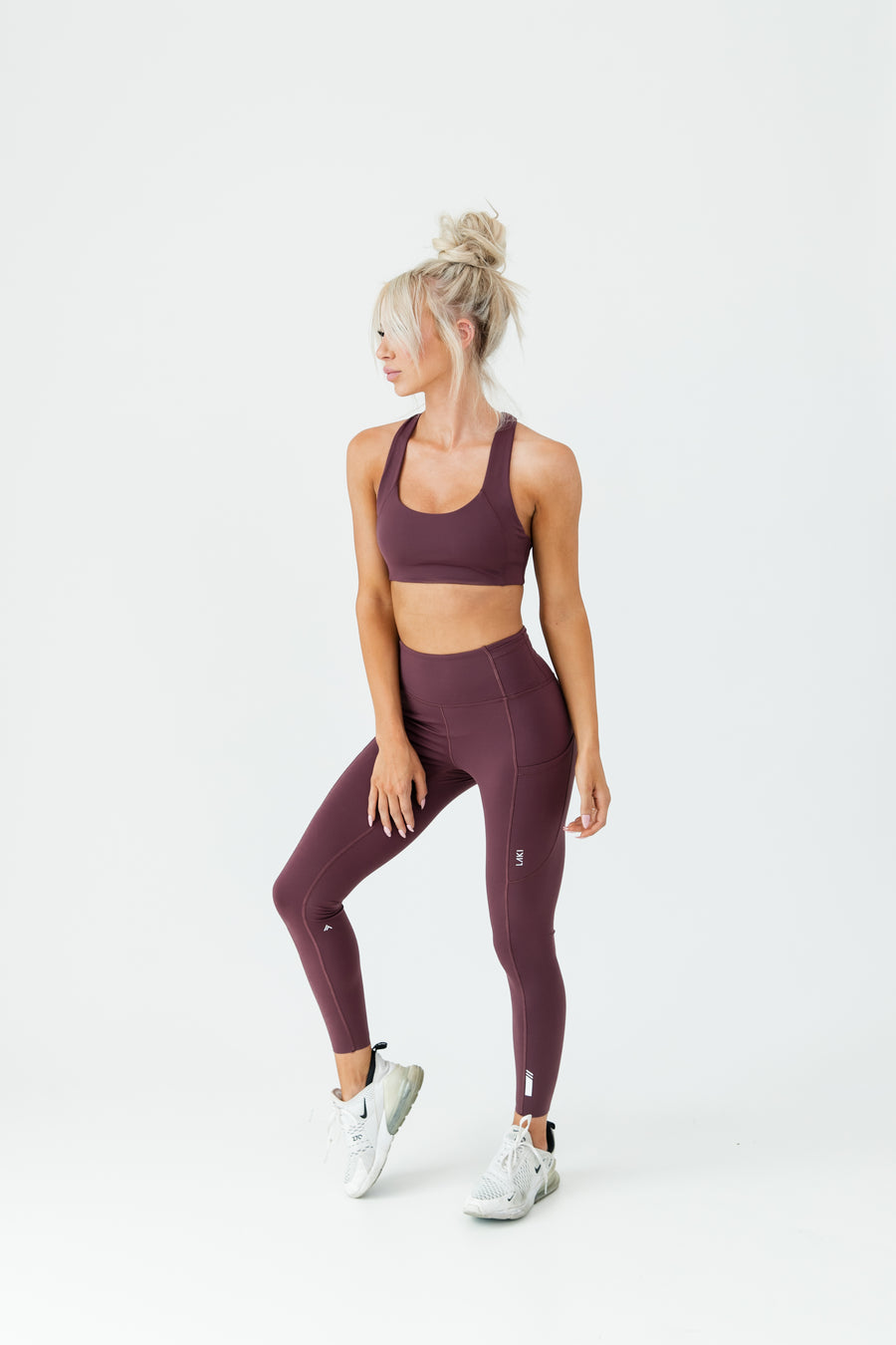 ARK LEGGING - PLUM