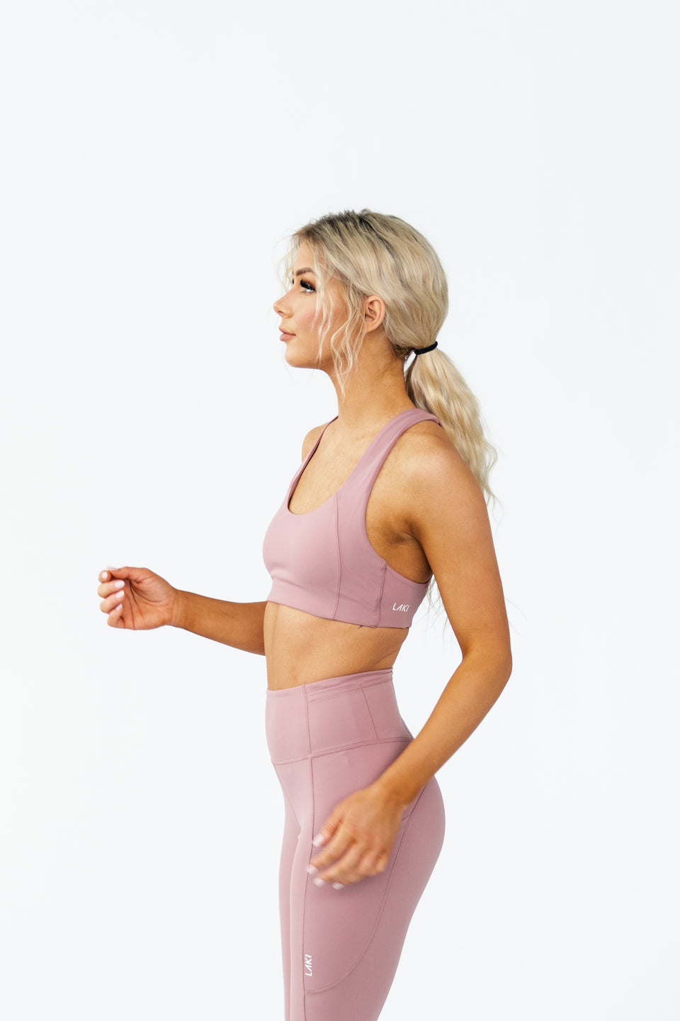 ARK SPORTS BRA - PEACH