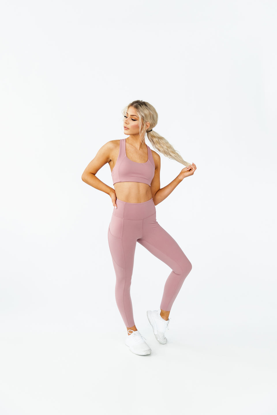 ARK LEGGING - PEACH