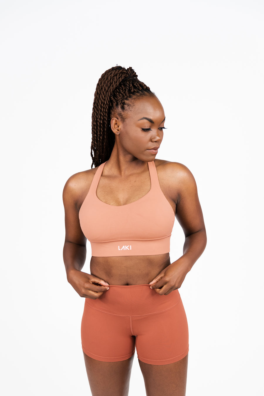 SWIFT SPORTS BRA - CORAL