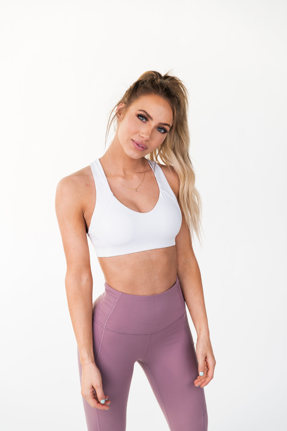 ARK ii SPORTS BRA - FROST