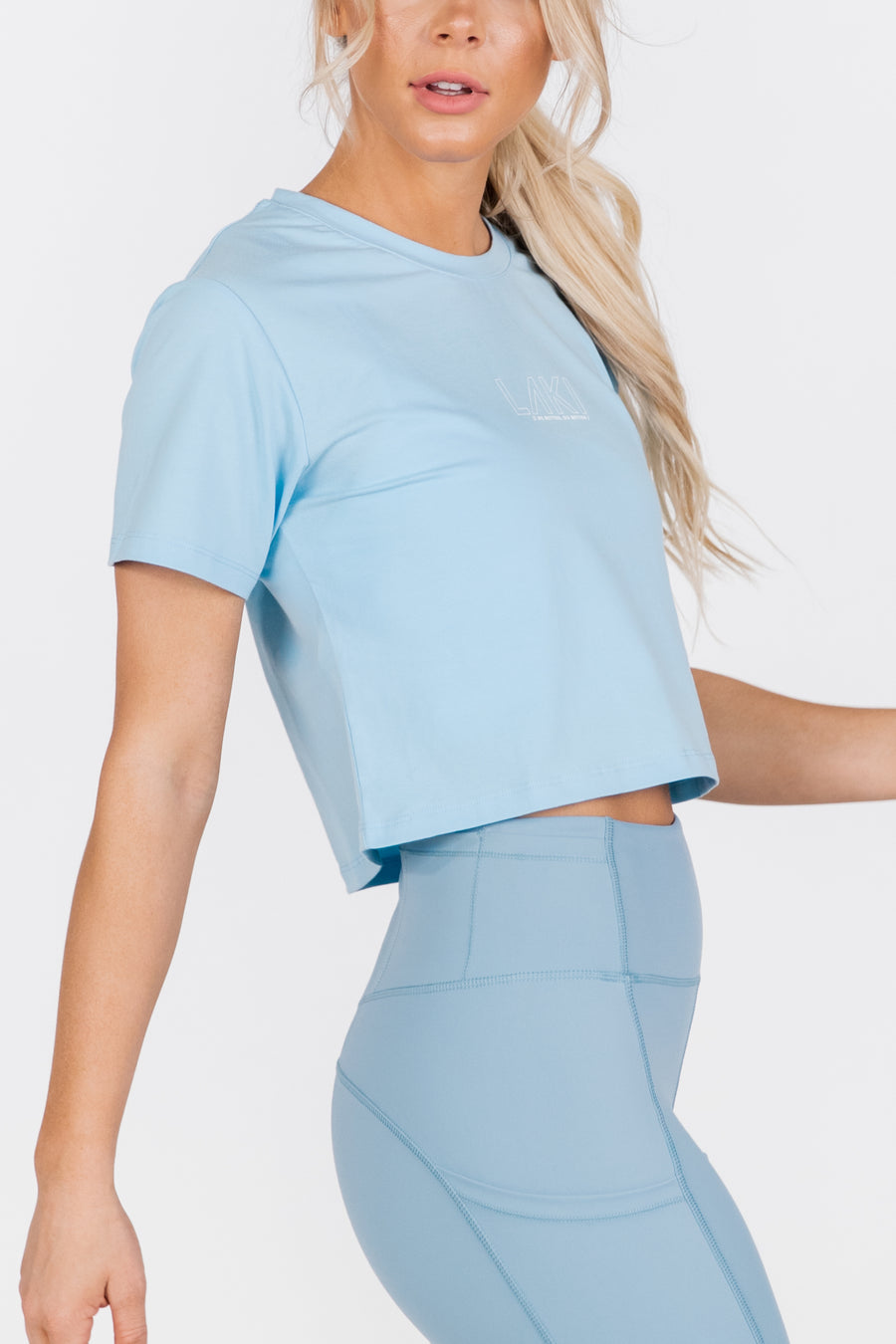STATEMENT CROP TEE - OCEAN