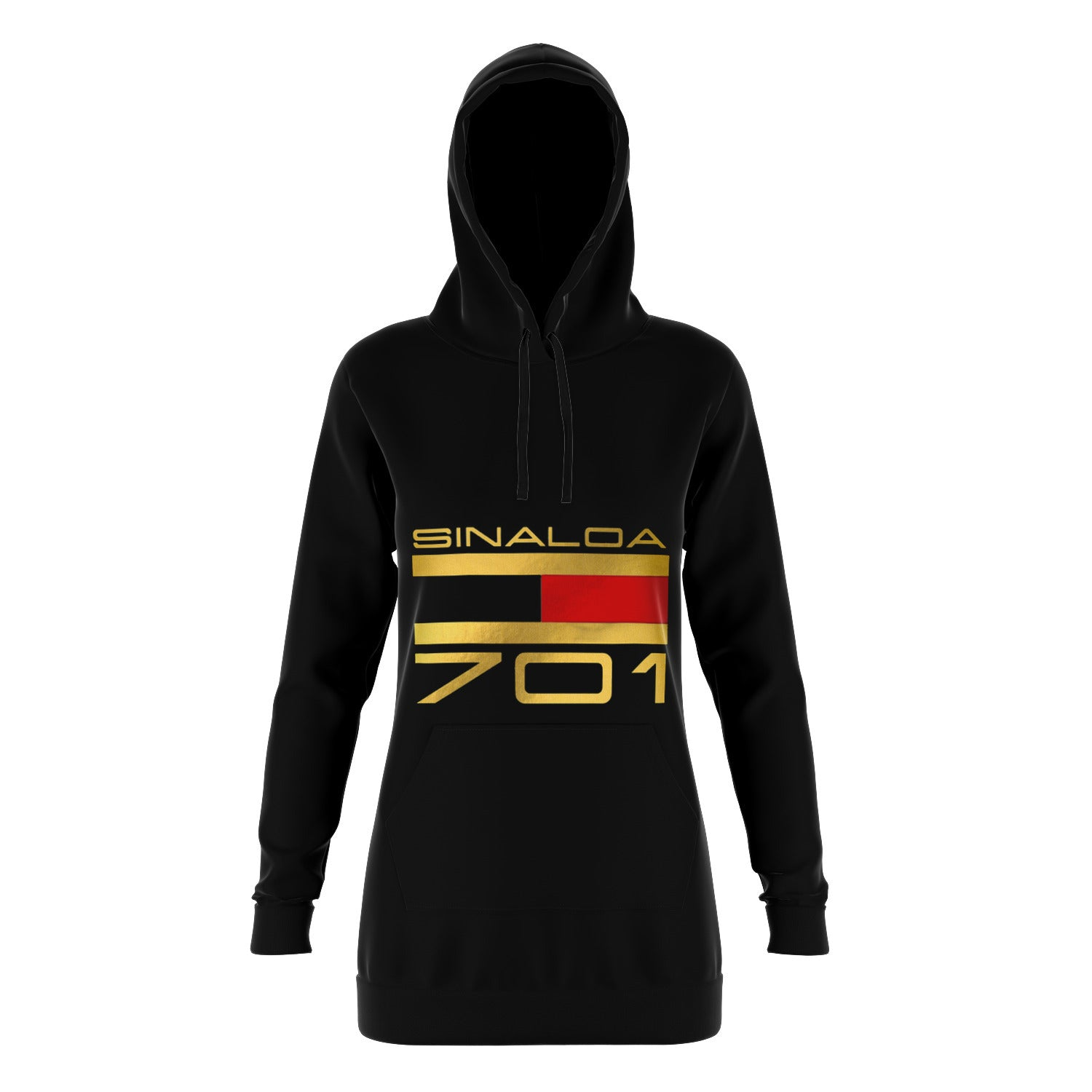 SINALOA 701 HOODIE DRESS (LADIES)