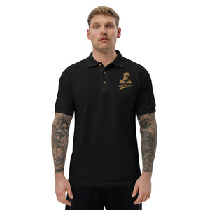 EL CHAPO EMBROIDERED POLO
