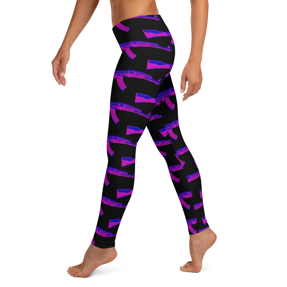 QUEEN PIN LEGGINGS (LADIES)
