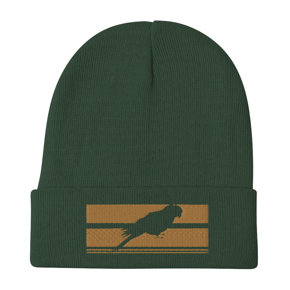 701 EL LORO EMBROIDERED BEANIE HAT