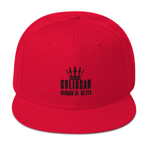 CULIACÁN CITY OF KINGS EMBROIDERED SNAPBACK HAT