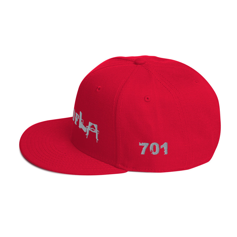 SINALOA 701 CITY OF L.A. EMBROIDERED SNAPBACK HAT