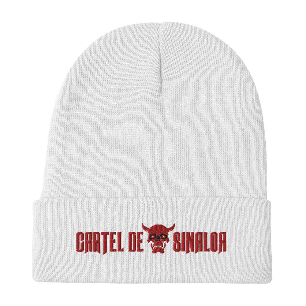 CDS DIABLO EMBROIDERED BEANIE HAT