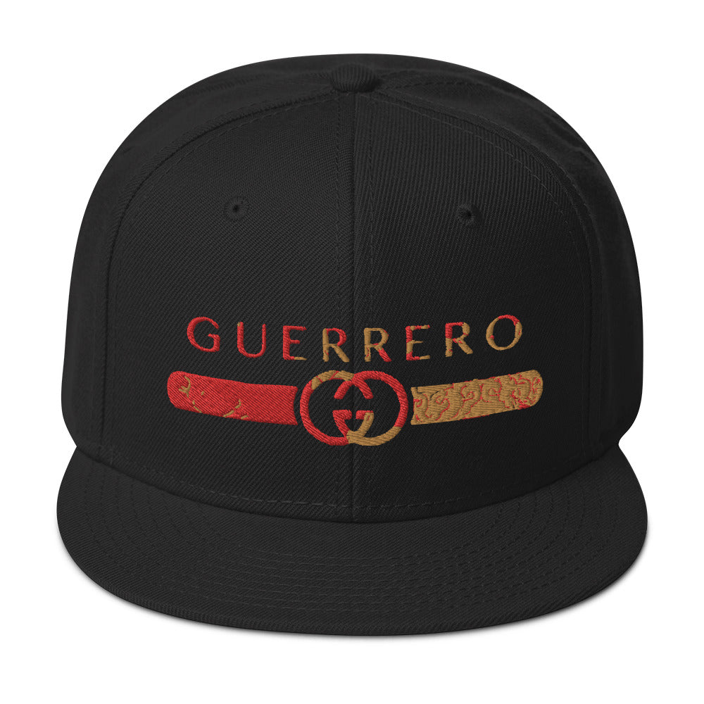 GUERRERO EMBROIDERED SNAPBACK HAT